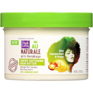 SoftSheen-Carson Dark and Lovely Au Naturale Length Retention Super Softening Hair Butter, 8 Oz