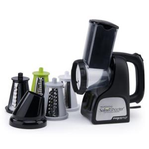 Presto Professional SaladShooter electric slicer/shredder white 02970