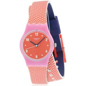 Swatch PAREO Silicone Ladies Watch LP141