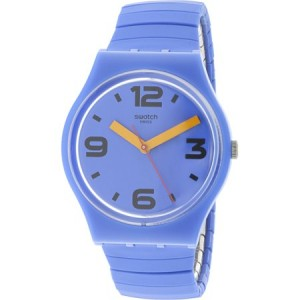 Swatch Pepeblu Silicone Unisex Watch GN251A