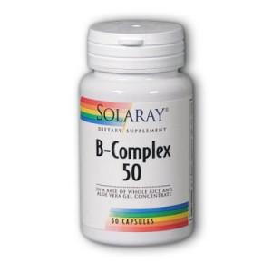 Solaray B-Complex 50 50 Capsules