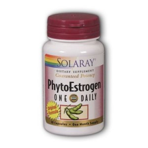 Solaray PhytoEstrogen One Daily 30 Capsules