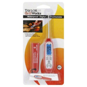 Taylor Grill Works Waterproof Digital Thermometer, 1 thermometer
