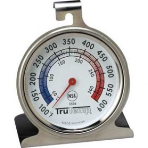 TRUTEMP Oven Thermometer,100 to 600F 3506