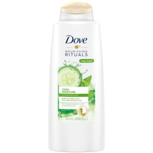 Dove Nourishing Rituals Cool Moisture Shampoo, 20.4 oz
