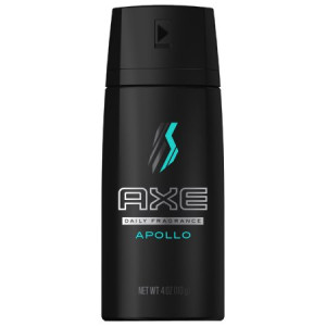 AXE Apollo Body Spray for Men 4 oz