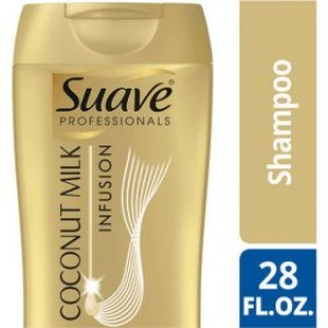 Suave Professionals Coconut Milk Infusion Deep Moisture Shampoo, 28 oz