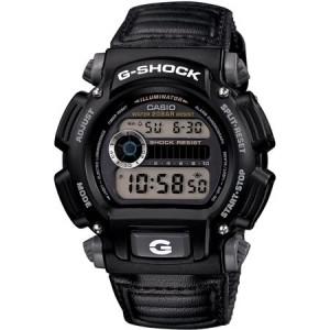 Casio Men's G-Shock Watch, Grey Nylon Strap