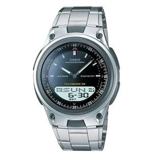 Casio Men's Sports Ana-Digi Databank Watch, Black