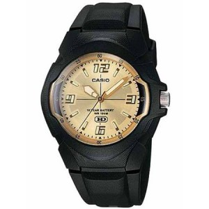 Casio Men's 10-Year Battery Analog Resin Watch
