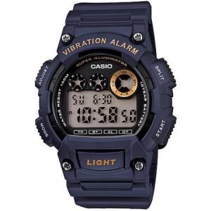 Casio Men's Sport Digital Watch, Blue Resin Strap