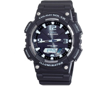 Casio Men's Solar Sport Combination Watch, Black