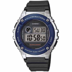Casio Men's Digital Watch, Grey Resin Strap