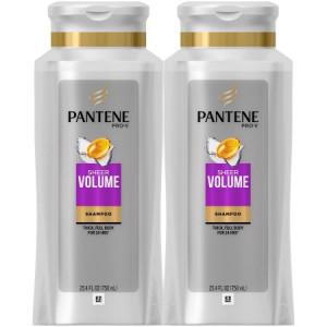Pantene Pro-V Sheer Volume Shampoo 2-25.4 fl. oz. Bottles