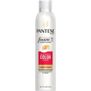 Pantene Pro-V Radiant Color Shine Foam Conditioner, 6 oz.