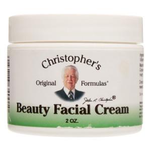 Christopher's Original Formulas Beauty Facial Cream, 2 Oz