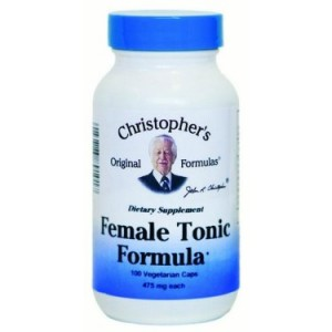 Dr. Christopher's Original Formulas Female Tonic Formula Capsules, 100 Ct