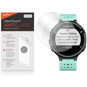 Garmin Forerunner 235 Screen Protector, BoxWave, ClearTouch Anti-Glare, 2-Pack