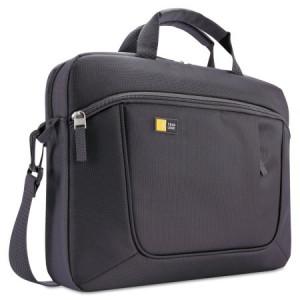 "Case Logic Laptop and Tablet Slim Case, 15.6"", 16 1/2 x 3 1/5 x 12 4/5, Dark Gray"