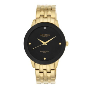 Armitron Men's Showcase Dress Watch, Metal Band