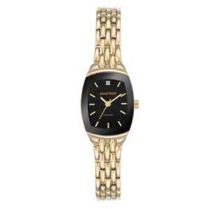 Armitron Women's Dress Black Cushion Watch