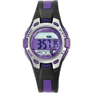 Armitron Women's Round Sport Watch, Purple