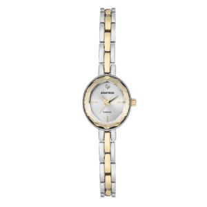 Armitron Ladies Dress Two Tone Bracelet Round Watch