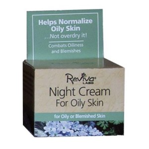 Reviva Labs Oily Skin Night Cream, 0.75 Oz