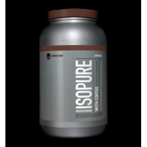Isopure With Coffee Protein Powder, Espresso, 40g Protein, 3 Lb