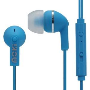 Moki ACC HCBM Noise Isolation Earbuds with Microphone and Control