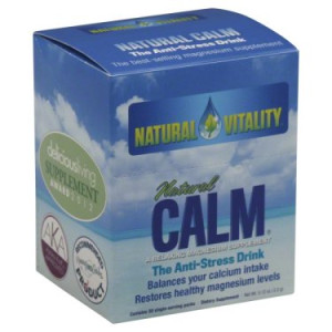 Natural Vitality Natural Calm Original (Unflavored) The Anti-Stress Drink, 30 pack, 0.12 oz