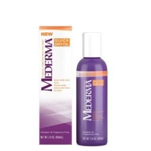 Mederma Quick Dry Oil, 3.4 Fl Oz