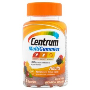 Centrum MultiGummies Adult Multivitamin Gummies, 70 Ct