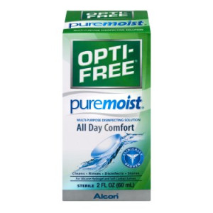 Opti-Free Pure Moist Multi-Purpose Contact Solution, 2 Oz