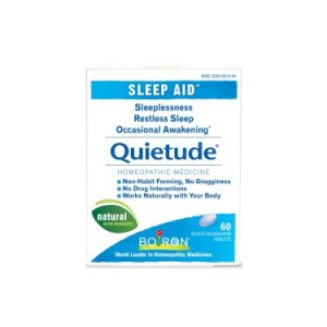 Boiron Quietude Sleep Aid Tablets, 60 Ct