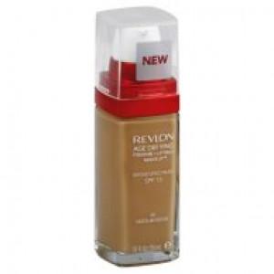 Revlon Age Defying Firming + Lifting Makeup, 55 Cool Beige, 1 fl oz