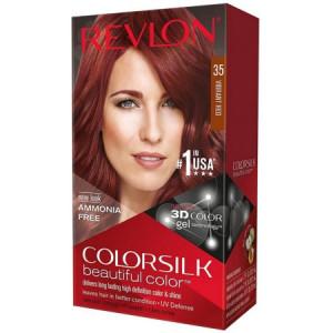 Revlon ColorSilk Beautiful Color Permanent Hair Color, Vibrant Red [35] 1 ea