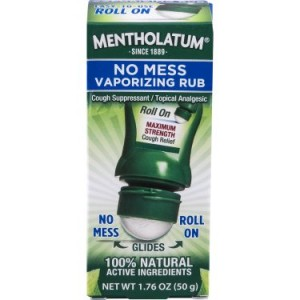 Mentholatum No Mess Vaporizing Rub 1.76 oz