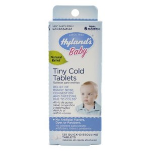 Hylands Baby Tiny Cold Tablets