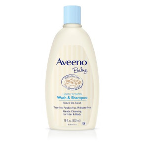 Aveeno Baby Gentle Wash & Shampoo with Natural Oat Extract, 18 fl. oz