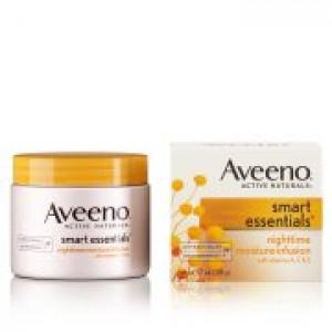 Aveeno Smart Essentials Nighttime Moisture Infusion, 1.7 Oz