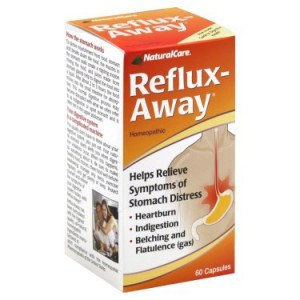 Natural Care Reflux-Away Capsules, 60 Ct