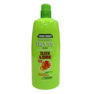 Garnier Fructis Sleek & Shine Fortifying Conditioner, Pump, 40 Fl Oz