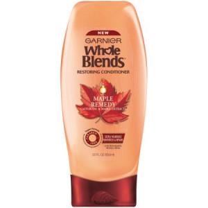 Garnier Whole Blends Maple Remedy Restoring Conditioner 22 fl. oz. Bottle