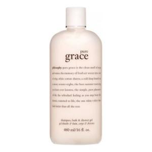 Philosophy Pure Grace Shampoo, Bath & Shower Gel, 16 Oz