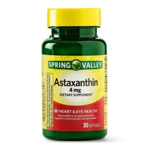 Spring Valley Astaxanthin Softgels, 4 mg, 30 Ct