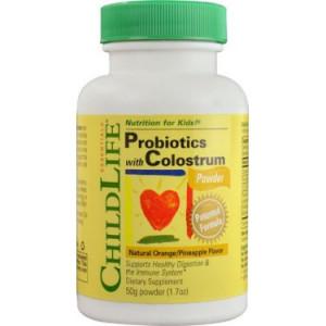 ChildLife Colostrum Powder with Probiotics, 1.7 Oz