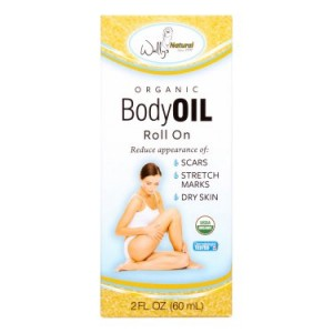 Wally's Organic Body Oil, 2 Fl Oz
