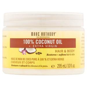 Marc Anthony 100% Coconut Oil + Extra Virgin, 10 fl oz