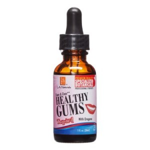 L A Naturals Clear & Clean Healthy Gums, 1 Oz